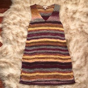 Multicolored Sweater Tunic